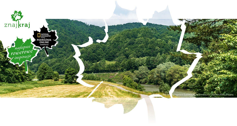 Malowniczy fragment EuroVelo 11 na Słowacji