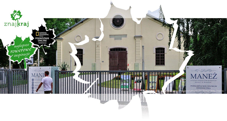 Maneż - kasy muzeum w Łańcucie