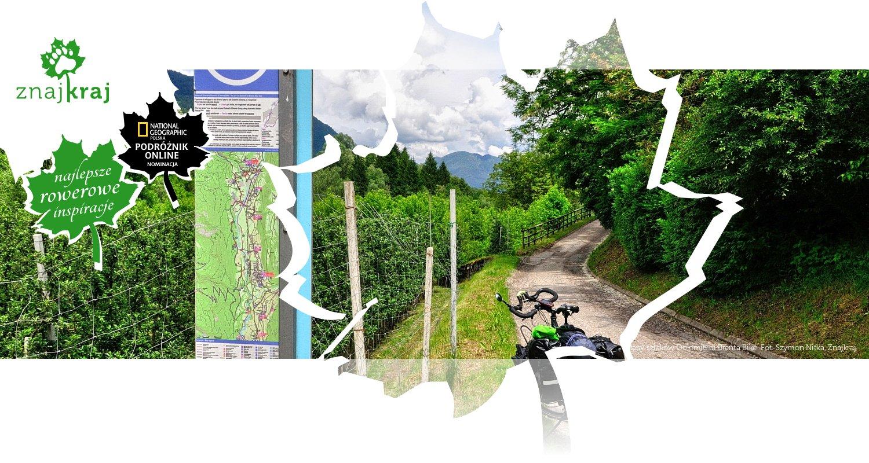 Mapy szlaków Dolomiti di Brenta Bike
