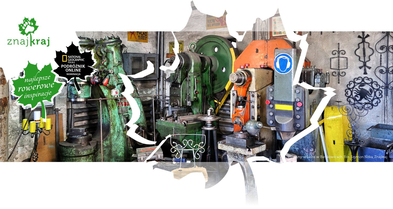 Maszyny w kuźni w Bieńkowicach