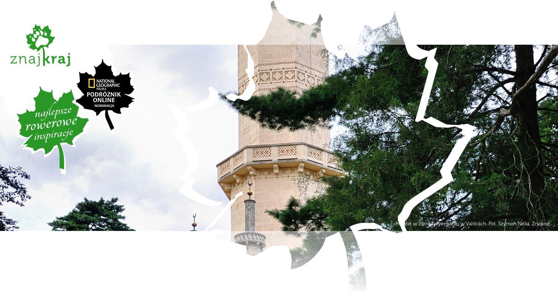 Meczet w zamkowym parku w Valticach