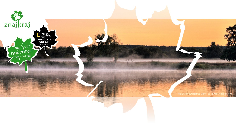 Mgła nad powierzchnią Odry