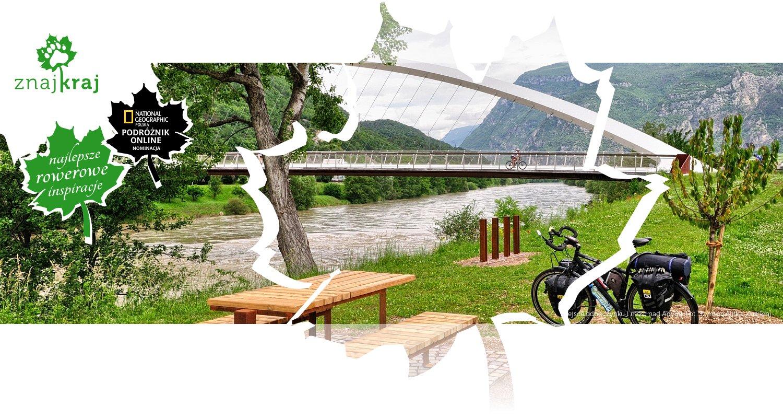 Miejsce odpoczynku i most nad Adygą