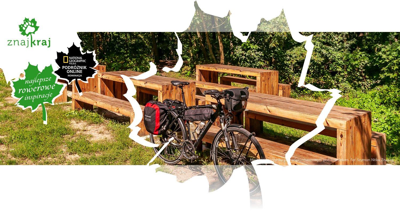 Miejsce odpoczynku przy szlaku rowerowym pod Poznaniem