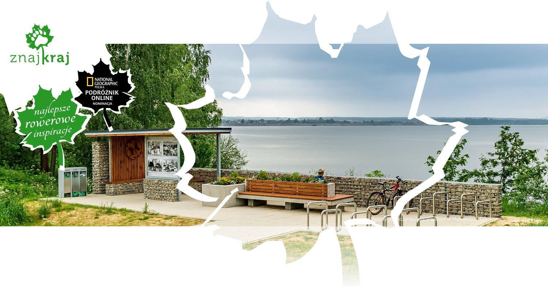 Miejsce odpoczynku rowerzystów w Małopolsce