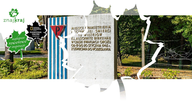 Miejsce pamięci obok domu zdrojowego w Jastrzębiu-Zdroju