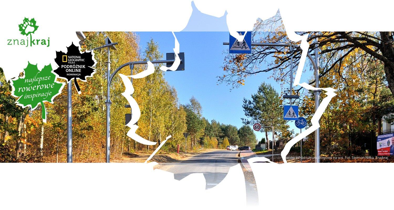 Miejska infrastruktura drogowa na wsi