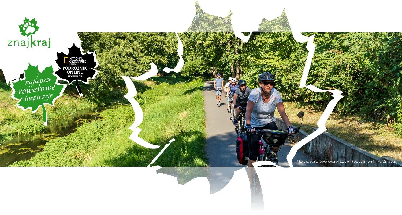 Miejska trasa rowerowa w Lipsku