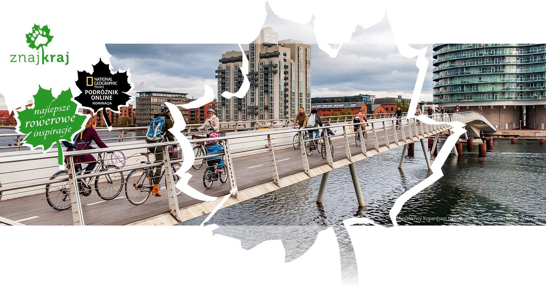 Mieszkańcy Kopenhagi na rowerach