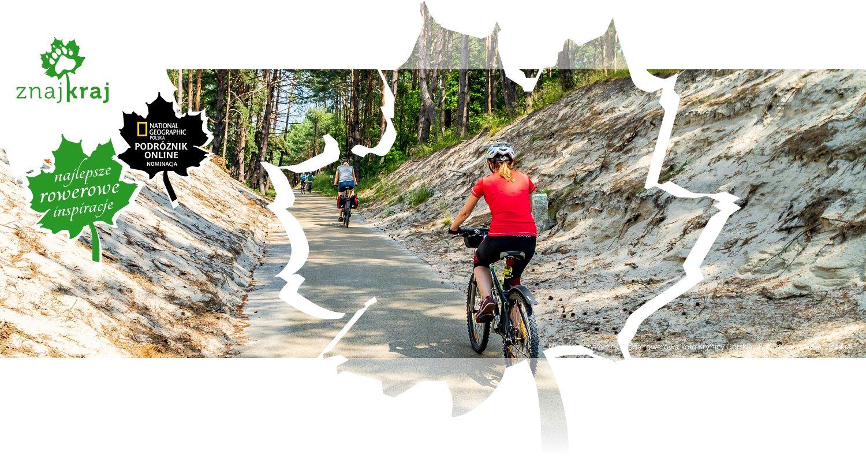 Mineralno-żywiczna droga rowerowa koło Krynicy Górskiej