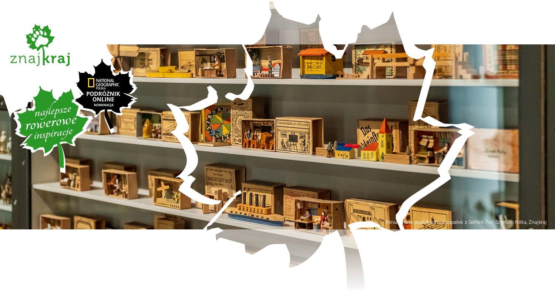 Miniaturki w pudełkach od zapałek z Seiffen