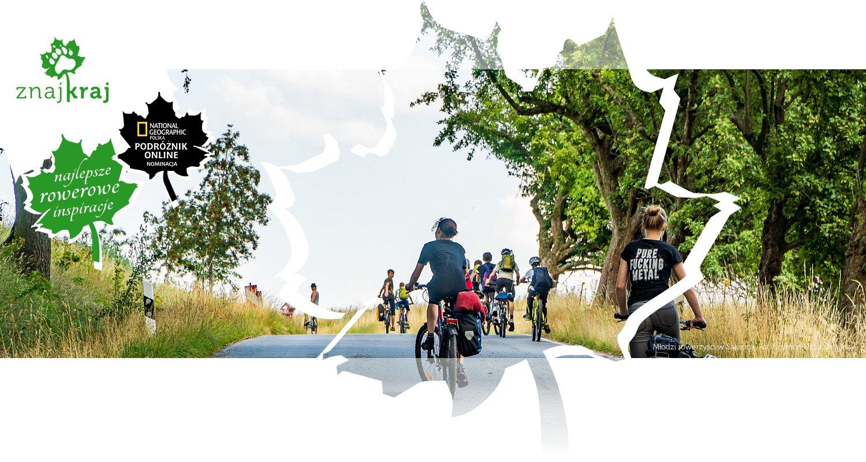 Młodzi rowerzyści w Saksonii