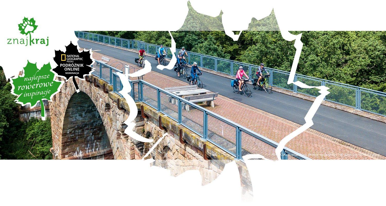 Most Klausmarbach na drodze rowerowej
