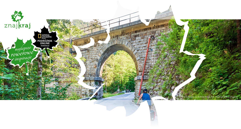 Most kolejowy w dolinie Anizy