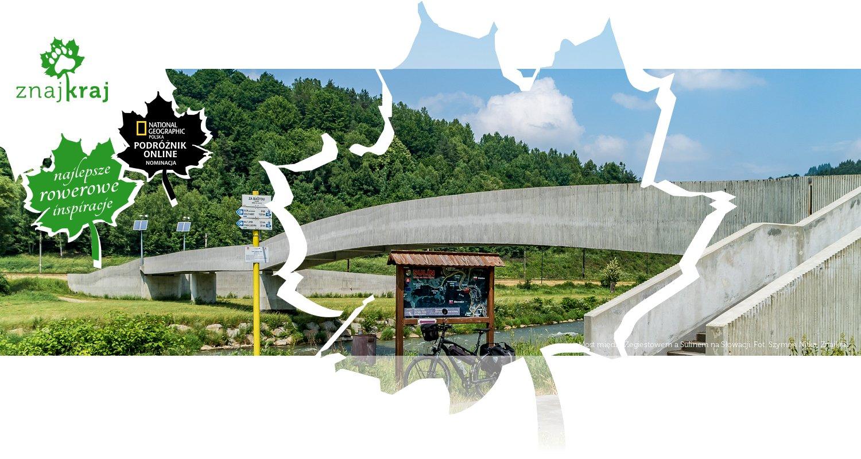 Most między Żegiestowem a Sulinem na Słowacji