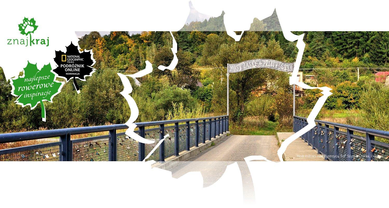 Most miłości nad Bystrzycą