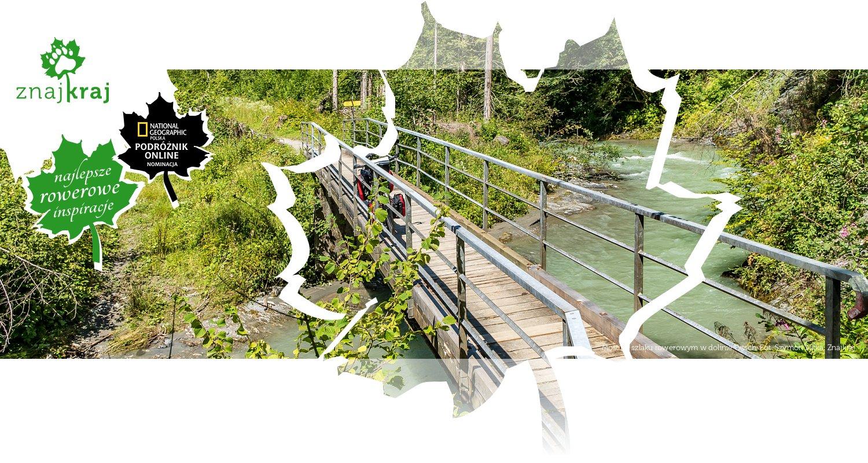 Most na szlaku rowerowym w dolinie Gitsch