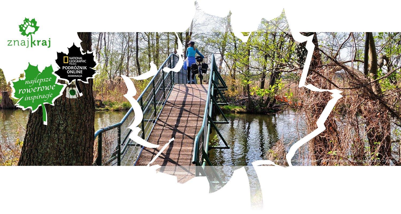Most nad przesmykiem między jeziorami koło Himmelpfort