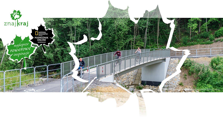 Most rowerowy na trasie Velo Czorsztyn