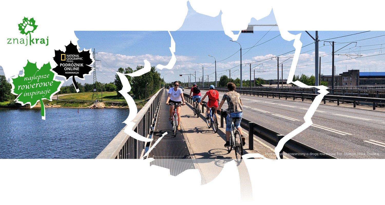 Most w Rydze poszerzony o drogę rowerową