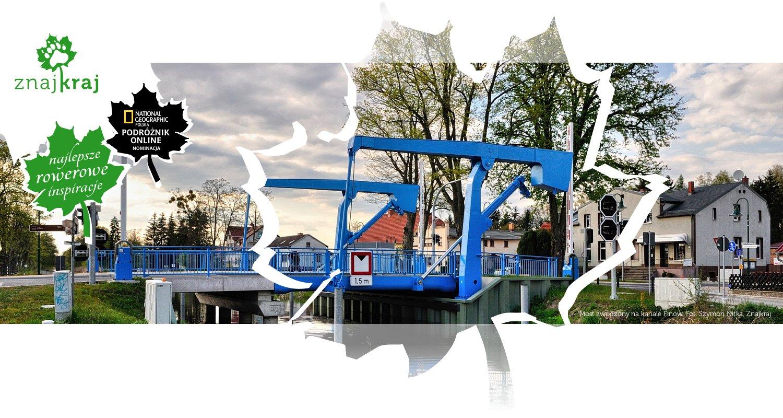 Most zwodzony na kanale Finow