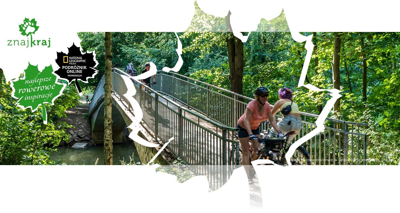 Mostek na trasie rowerowej w Lipsku