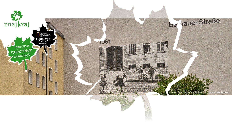 Murale na Bernauerstraße w Berlinie