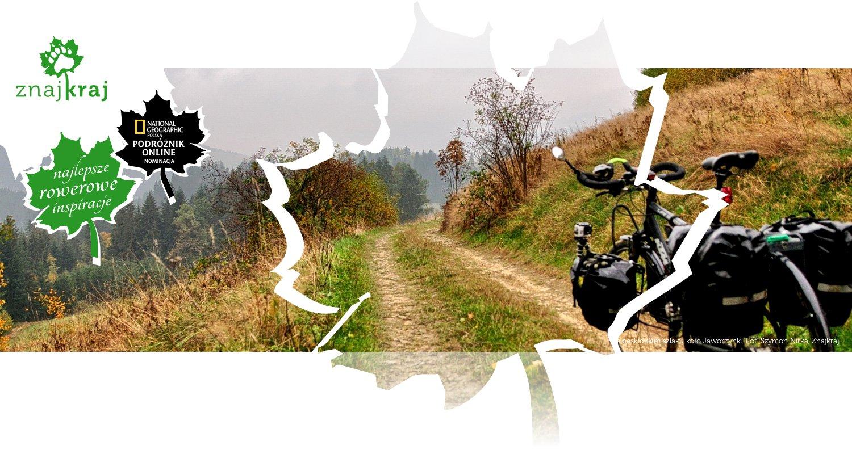 Na beskidzkim szlaku koło Jaworzynki
