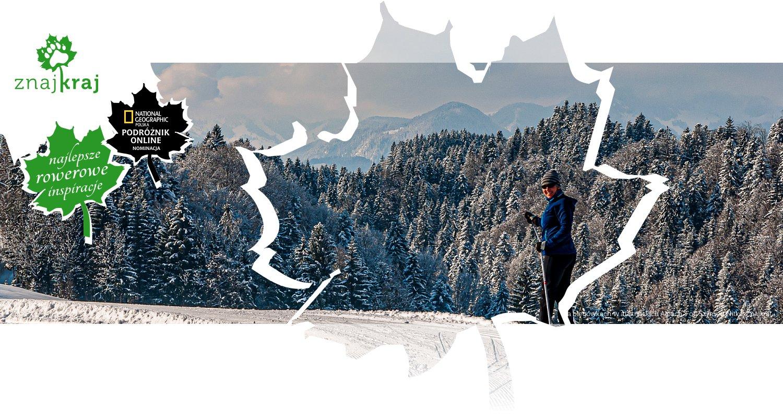 Na biegówkach w austriackich Alpach