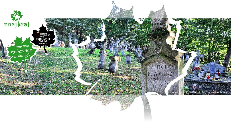 Na cmentarzu koło cerkwi w Radrużu