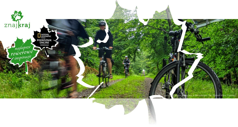 Na drodze rowerowej w Almindingen