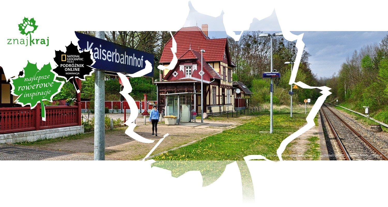 Na peronie przystanku kolejowego Joachimsthal
