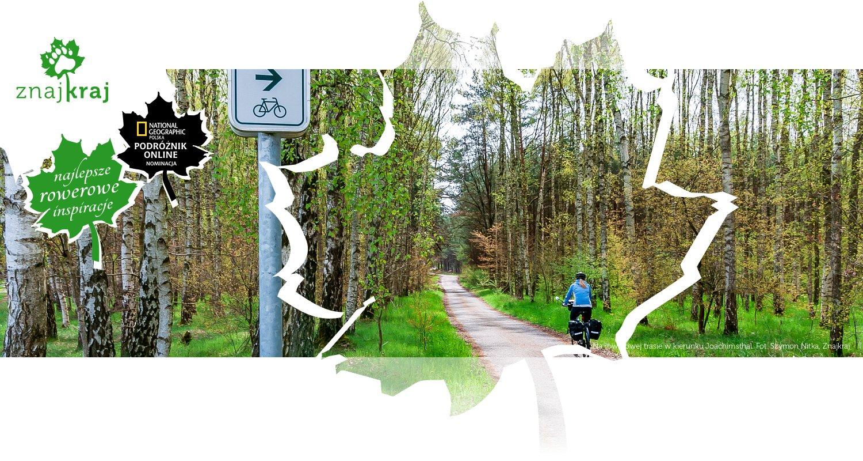 Na rowerowej trasie w kierunku Joachimsthal