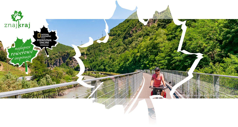 Na rowerowym szlaku przed Bolzano