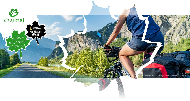 Na rowerze w dolinie Renu w Szwajcarii
