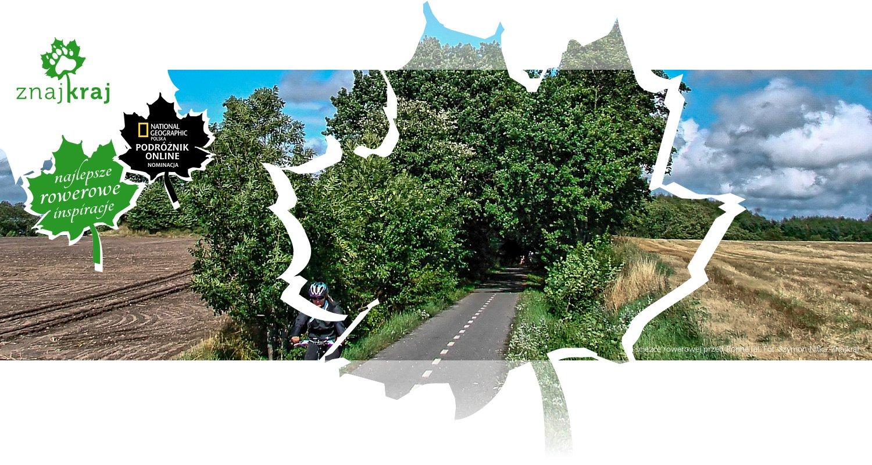 Na ścieżce rowerowej przed Ronne (e)