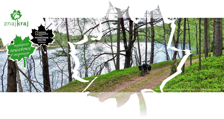 Na szlaku rowerowym w parku narodowym