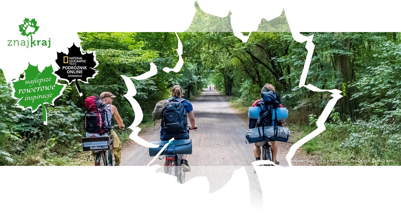 Na trasie rowerowej w lesie w Lipsku