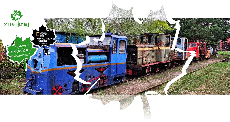 Na zabytkowej stacji kolei wąskotorowej w Rudach