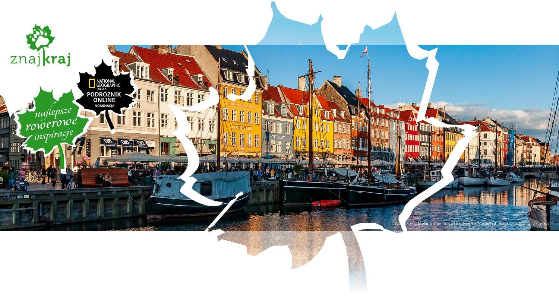 Nabrzeże Nyhavn w centrum Kopenhagi