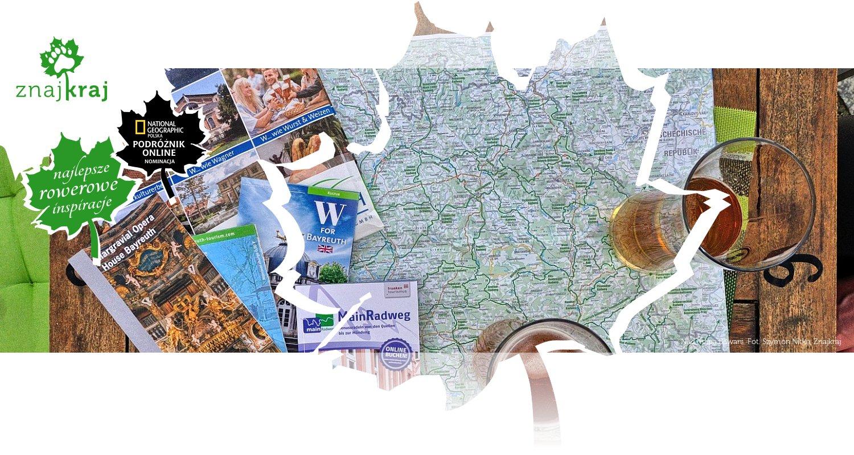 Nad mapą Bawarii