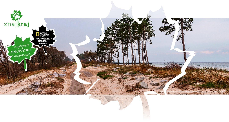 Nadmorska trasa rowerowa koło Darłówka