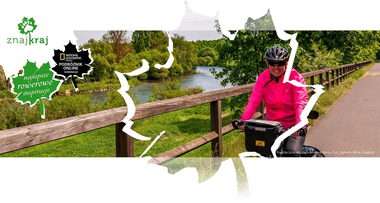 Nadrzeczna droga rowerowa Menu