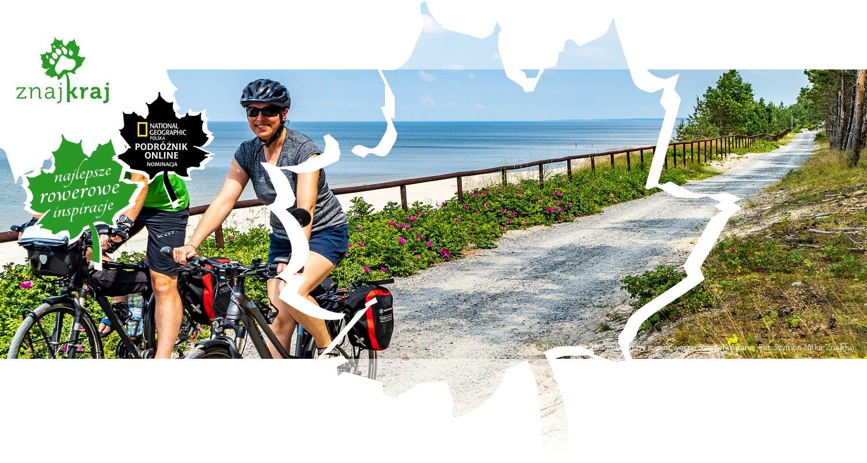 Najpiękniejszy fragment trasy rowerowej po Mierzei Wiślanej
