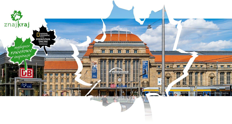 Największy dworzec kolejowy w Europie - Lipsk