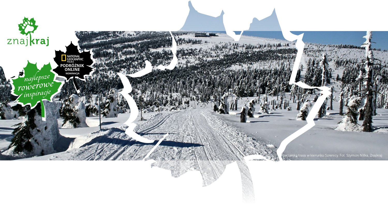 Narciarska trasa w kierunku Szrenicy