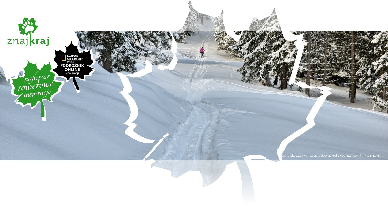 Narciarski szlak w Tatrach słowackich