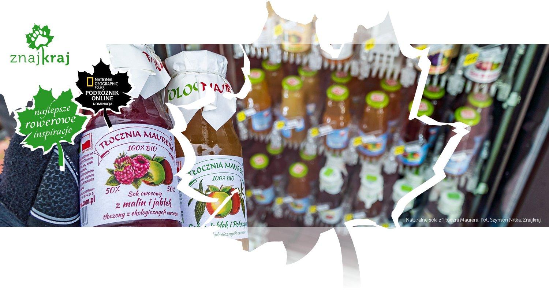 Naturalne soki z Tłoczni Maurera