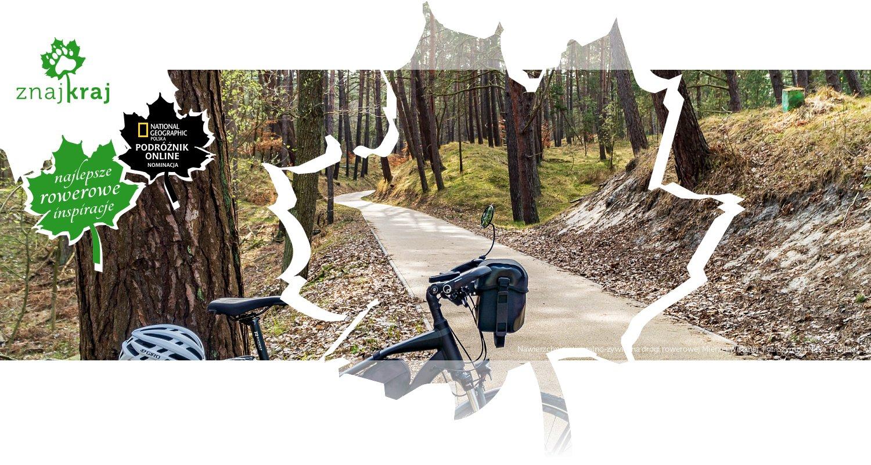 Nawierzchnia mineralno-żywiczna drogi rowerowej Mierzei Wiślanej