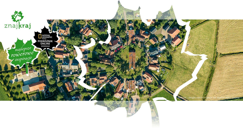 Niehove - okrągła wieś w Holandii